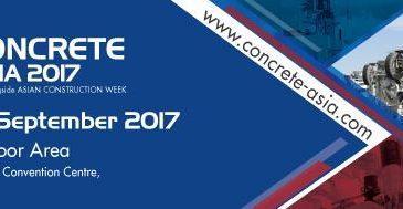 Concrete Asia 2017 show in Bangkok, Thailand