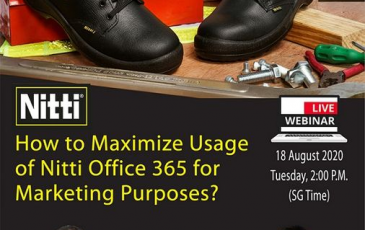 How to maximize usage of Nitti Office 365 for marketing purposes