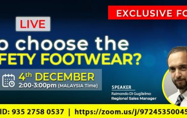 Exclusive Webinar for Malaysia: How To Choose The Right Safety Footwear