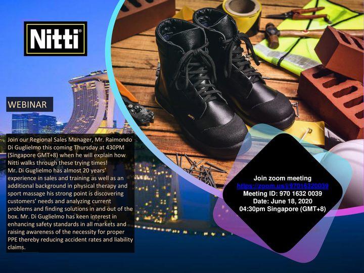 Webinar: Walk together with Nitti through these unprecedented times!