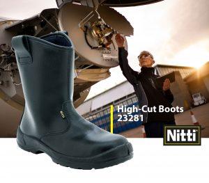 High-Cut Boots 23281
