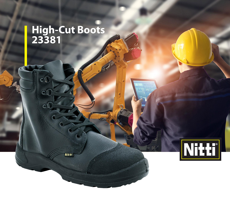 High-Cut Boots 23381