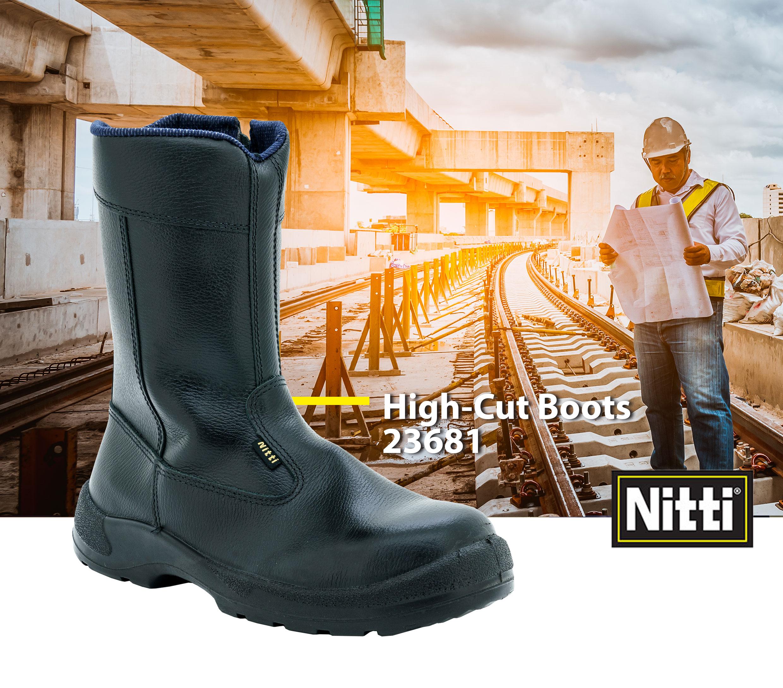 High-Cut Boots 23681