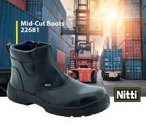Mid-Cut Boots 22681