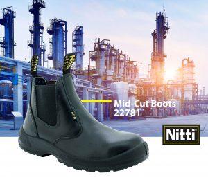 Mid-Cut Boots 22781