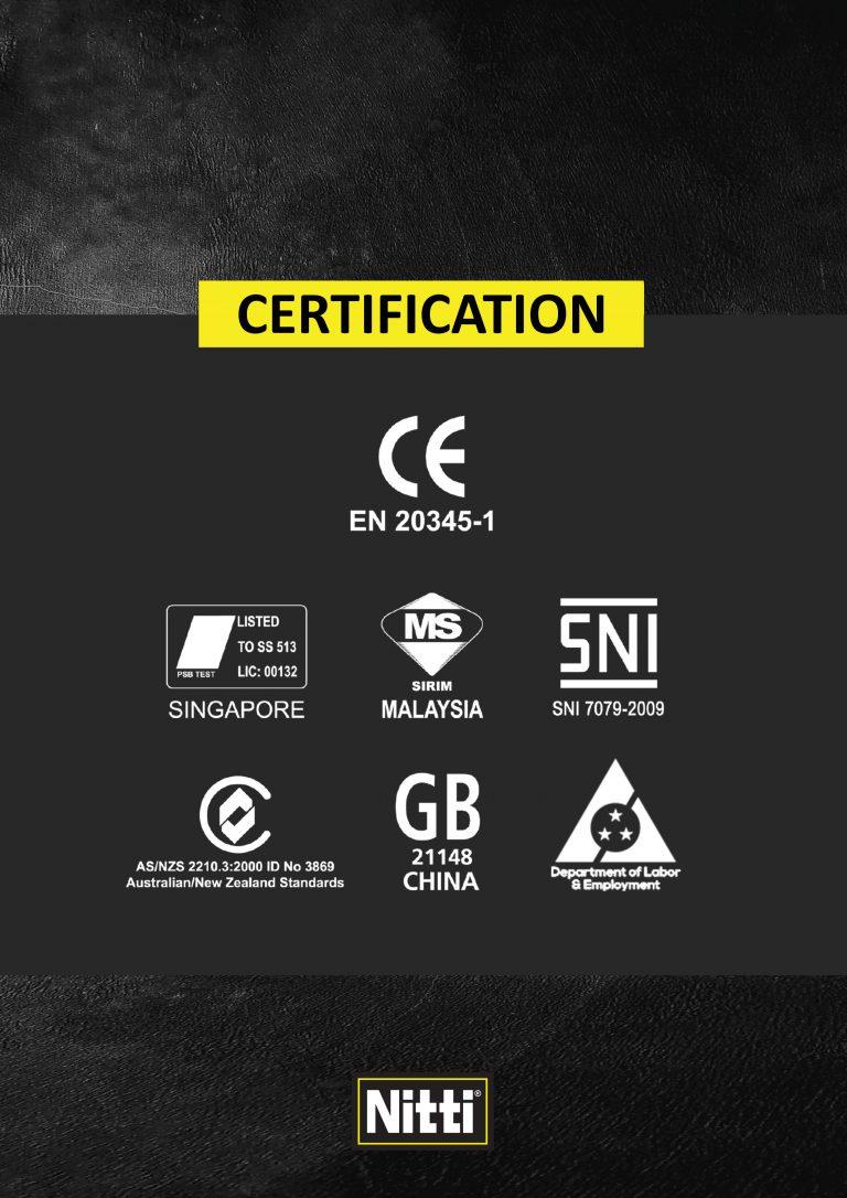 Nitti Certification