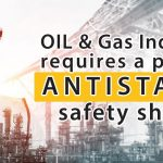 Oil & Gas Industry requires a pair of Antistatic safety shoes