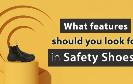 What features should you look for in safety shoes?